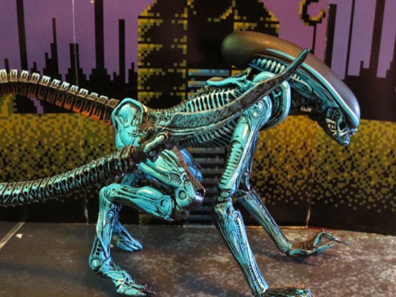 NECA retro game alien3 022