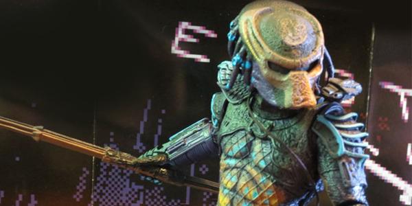 NECA retro game predator feat