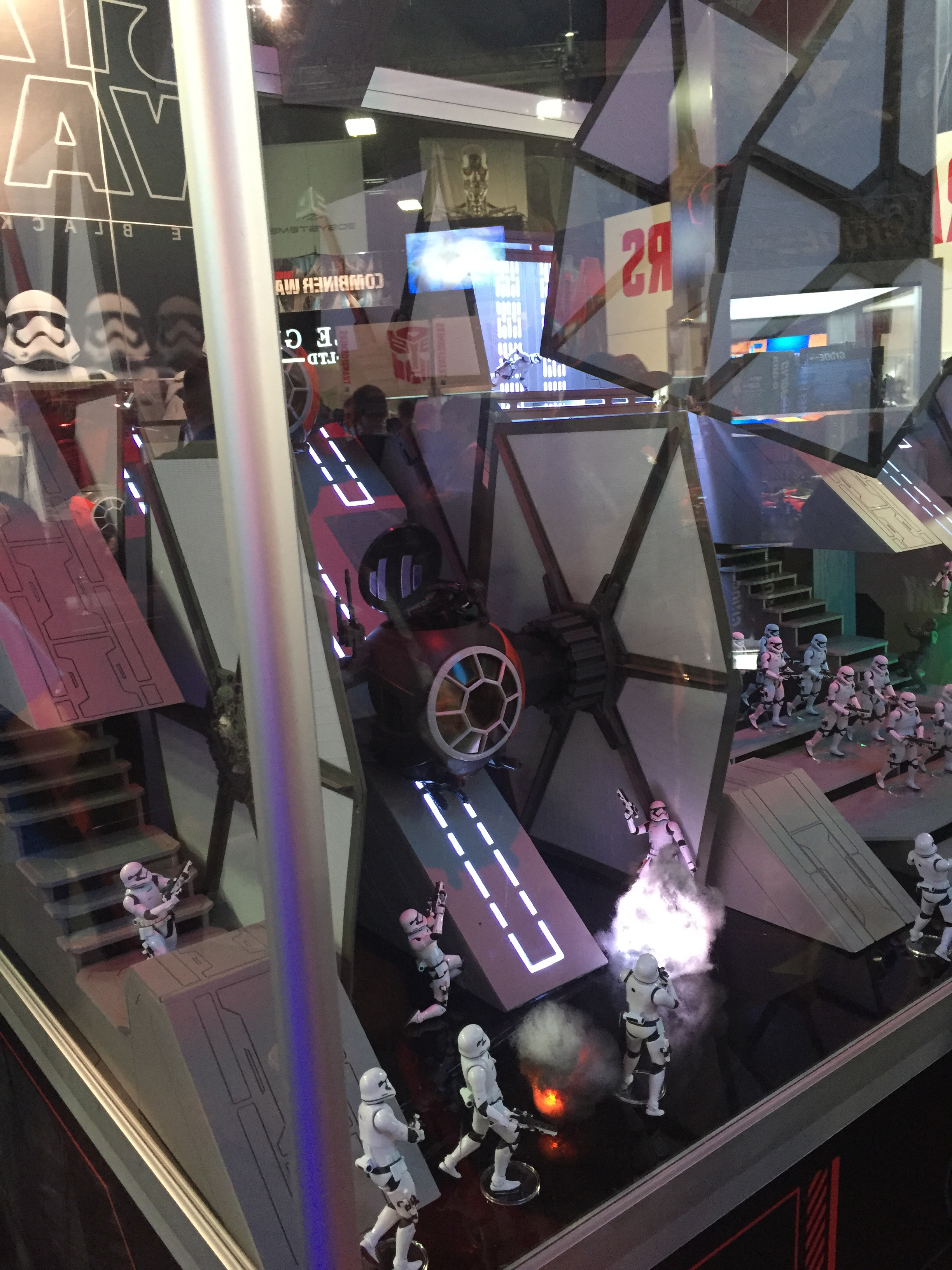Force Awakens Tie Fighter 004