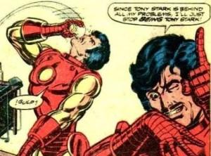 Iron Man Tony Stark Demon in a Bottle Robert Downey Jr MCU marvel Cinematic Universe Disney