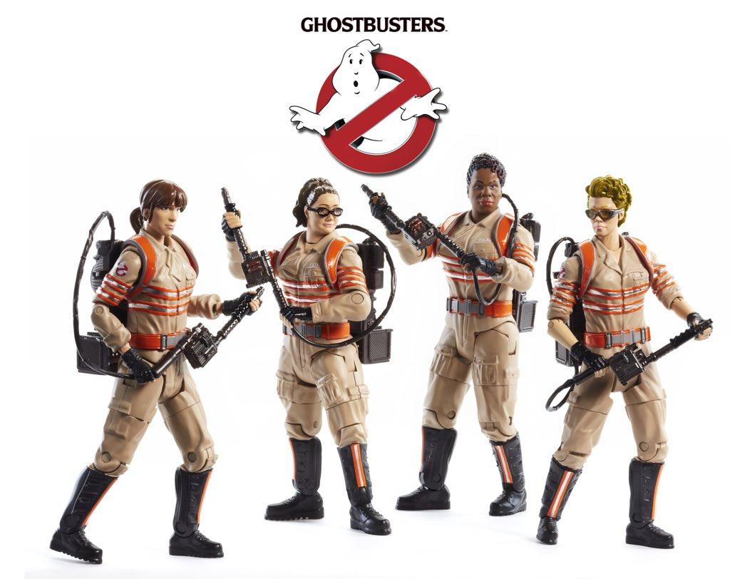 Mattel Ghostbusters Paul Feig Twitter
