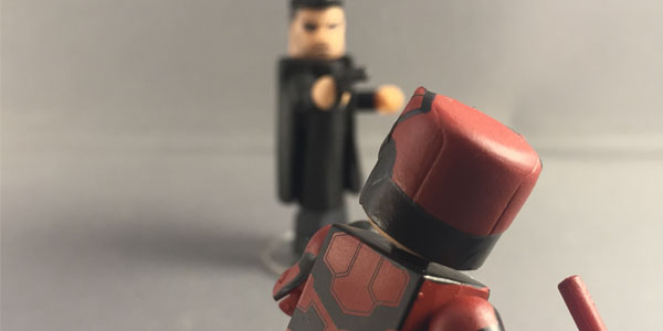 Diamond Select Toys Minimates Punisher and Daredevil-photos by K