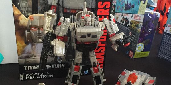 Hasbro Transformers SDCC16 Kastors Korner