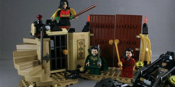LEGO Ras Al Ghul Kastors Korner