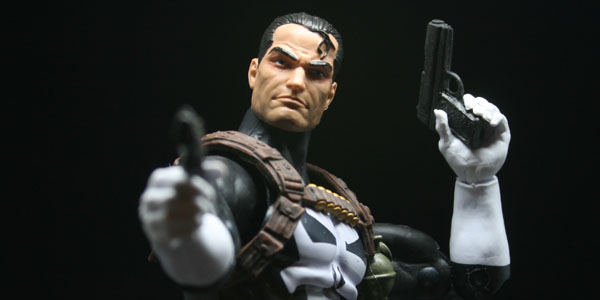 Walgreen's Exclusive Punisher- Marvel Legends Photos by Khalil Quotap. Copyright Kastor's Korner 2016
