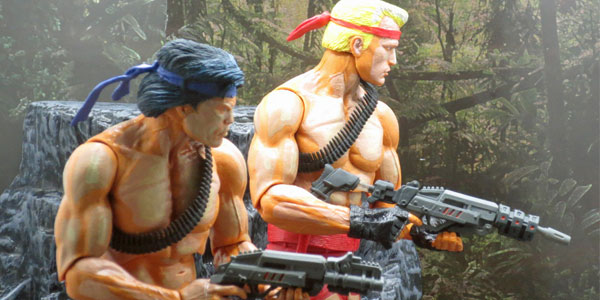 NECA-Contra-two-pack