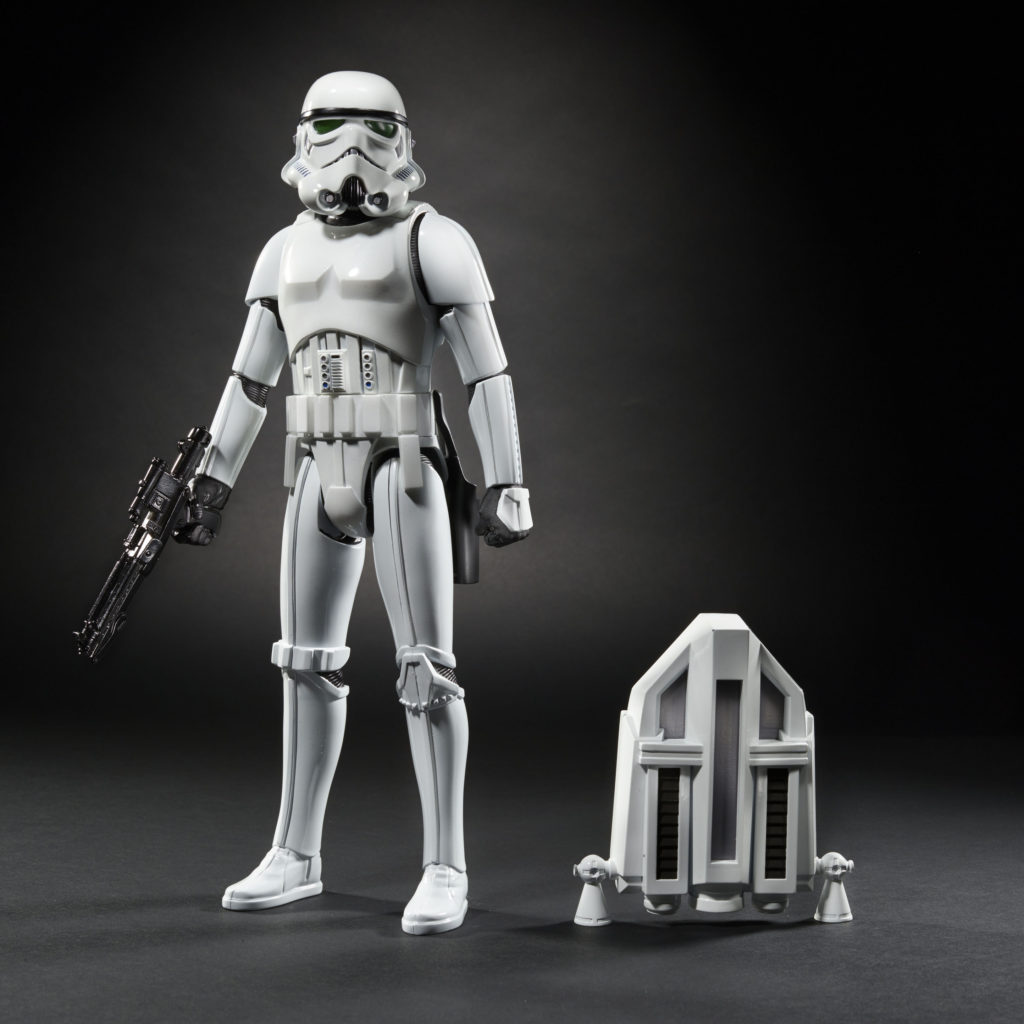 STAR WARS 12 INCH InteracTech Imperial Stormtrooper Figure oop1
