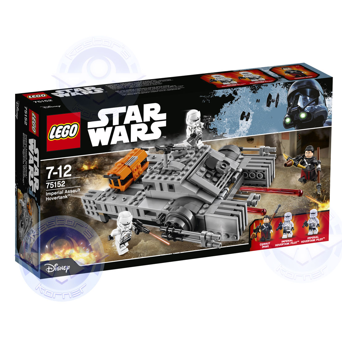 Rogue One Star Wars LEGO Kastors Korner 06
