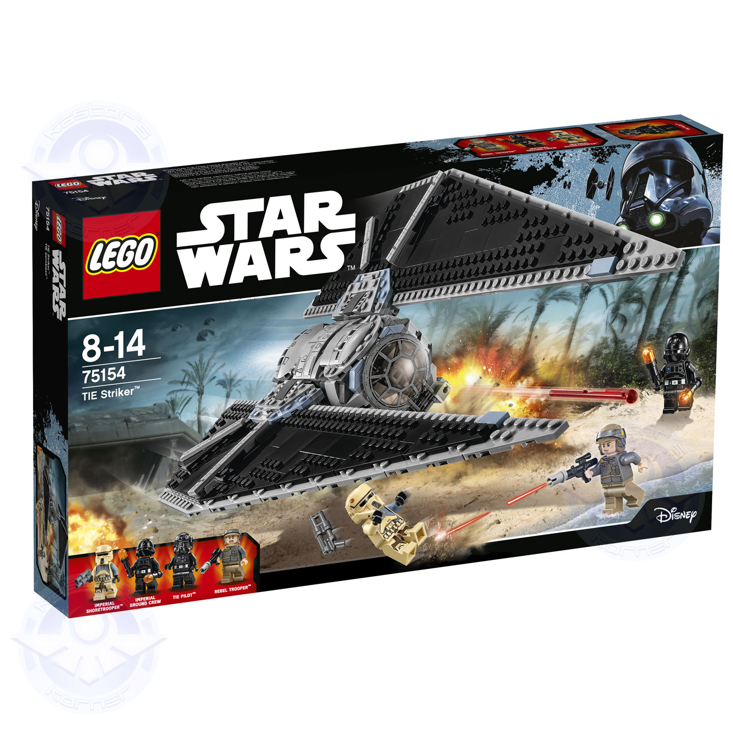 Rogue One Star Wars LEGO Kastors Korner 09