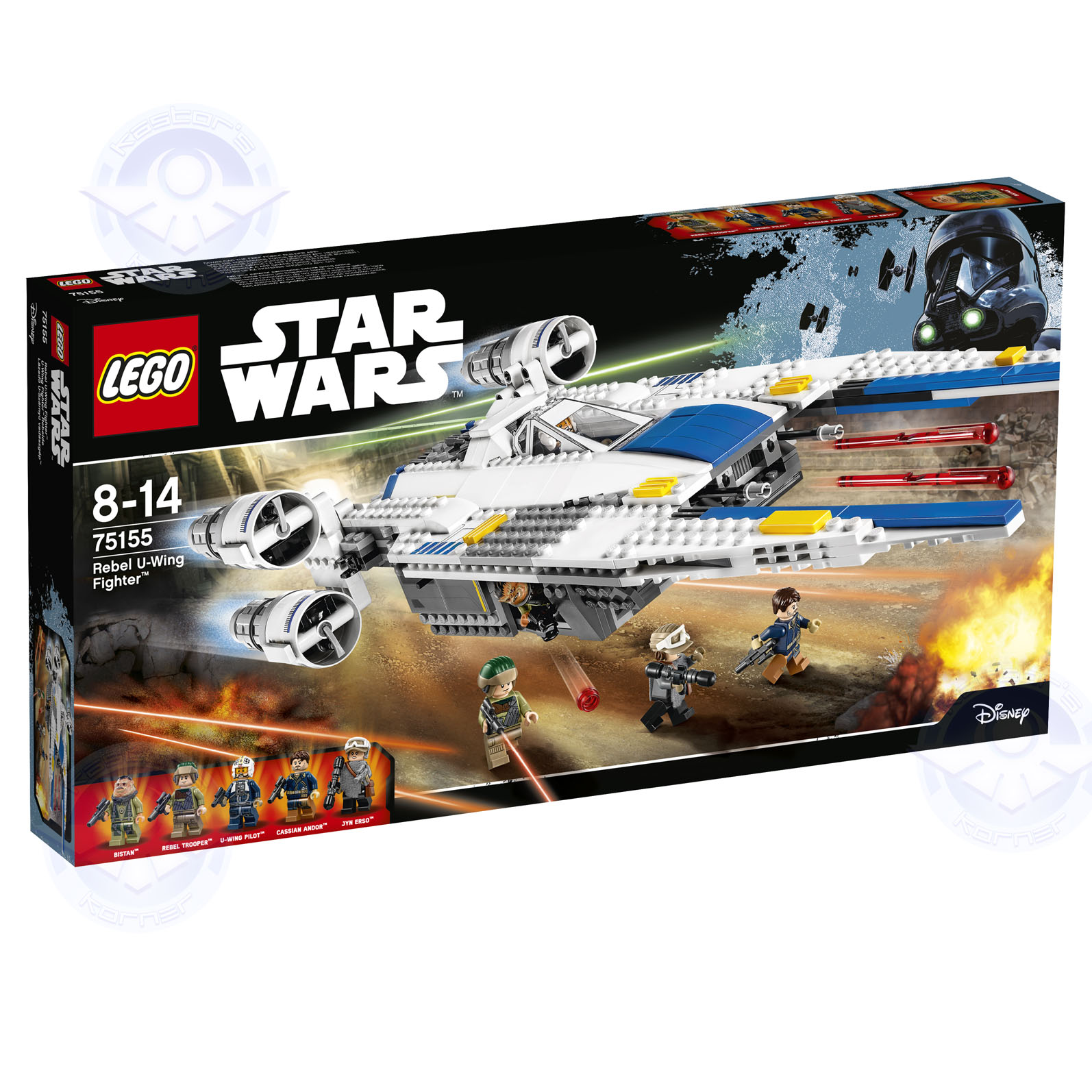 Rogue One Star Wars LEGO Kastors Korner 11
