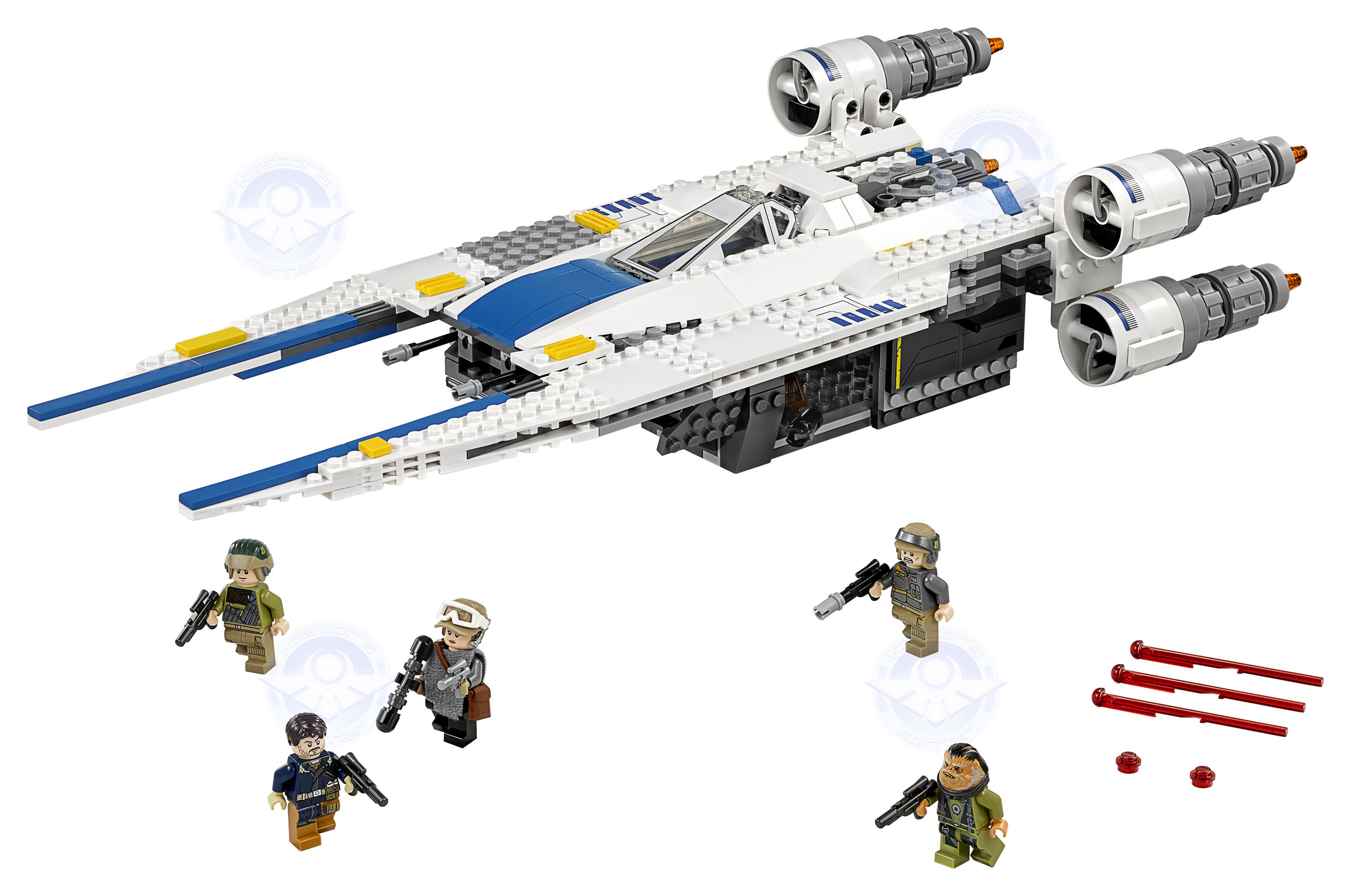 Rogue One Star Wars LEGO Kastors Korner 12