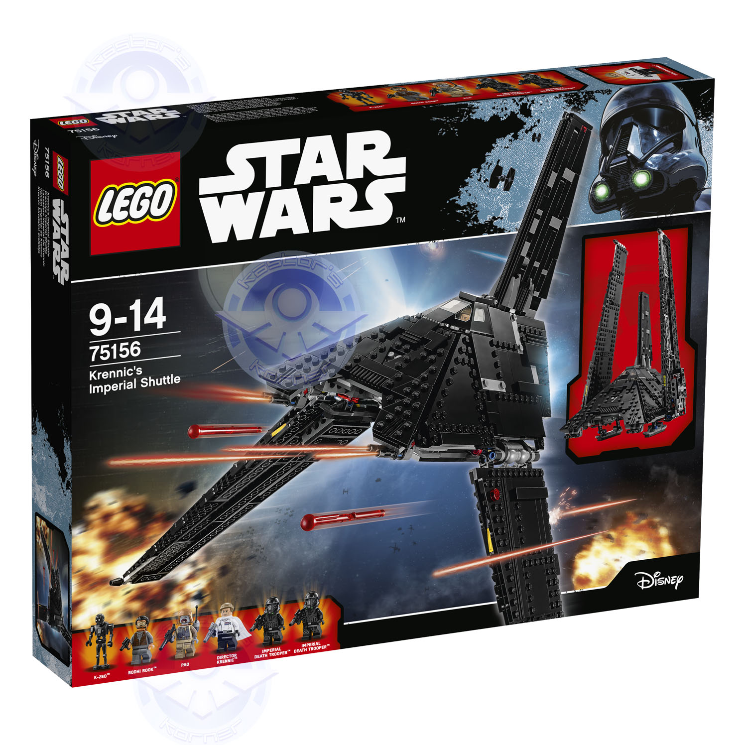 Rogue One Star Wars LEGO Kastors Korner 13