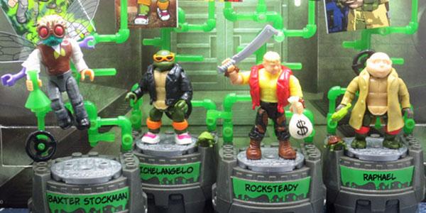 Classic TMNT Ninja Turtles Bebop Foot Soldiers minifigure Mega Bloks set
