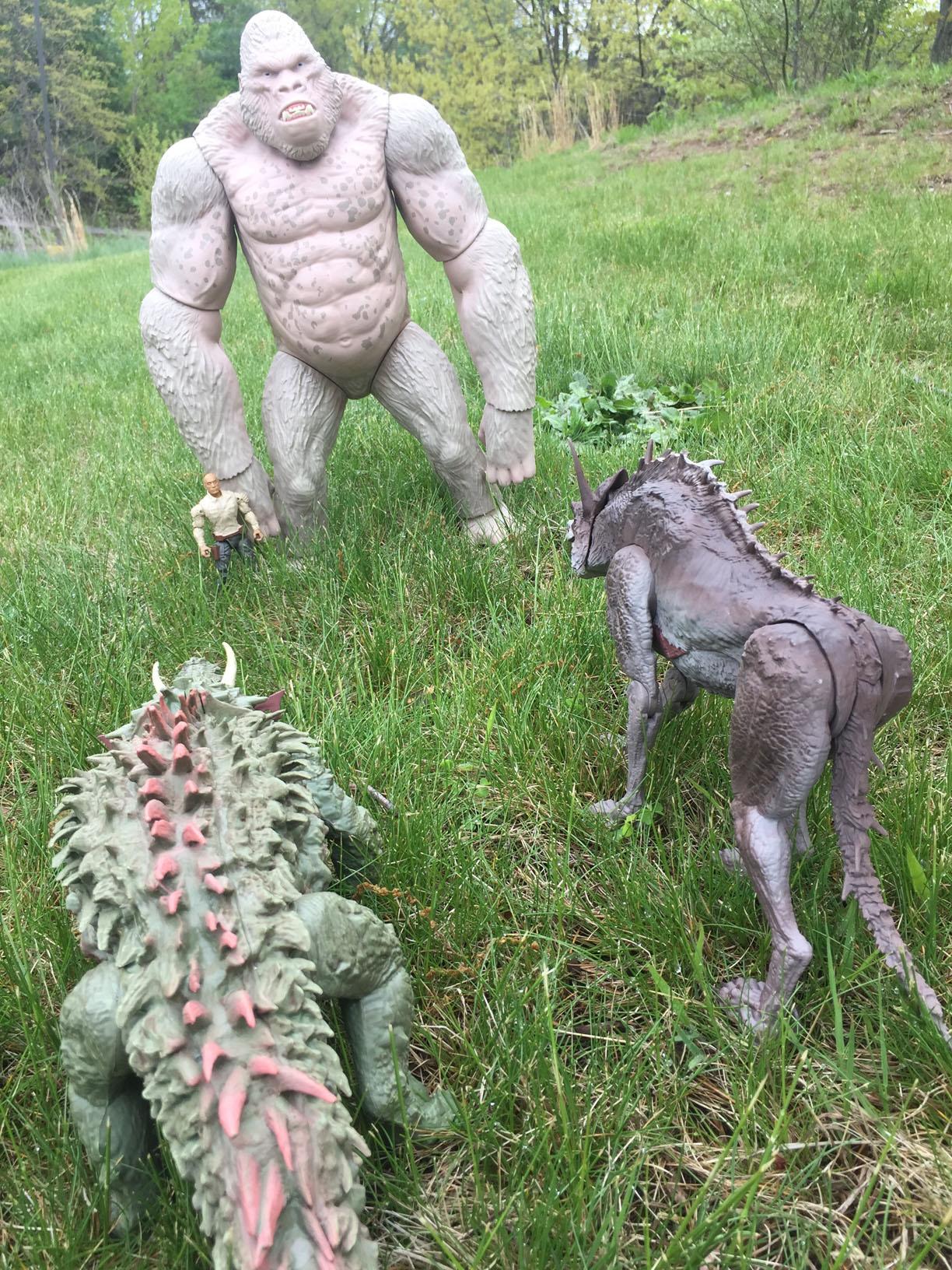 Rampage Movie Monster Figures Lanard Does It Again