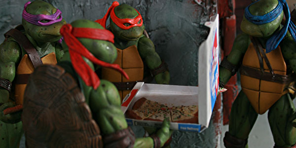 Neca S Teenage Mutant Ninja Turtles The Movie Figures Are Great