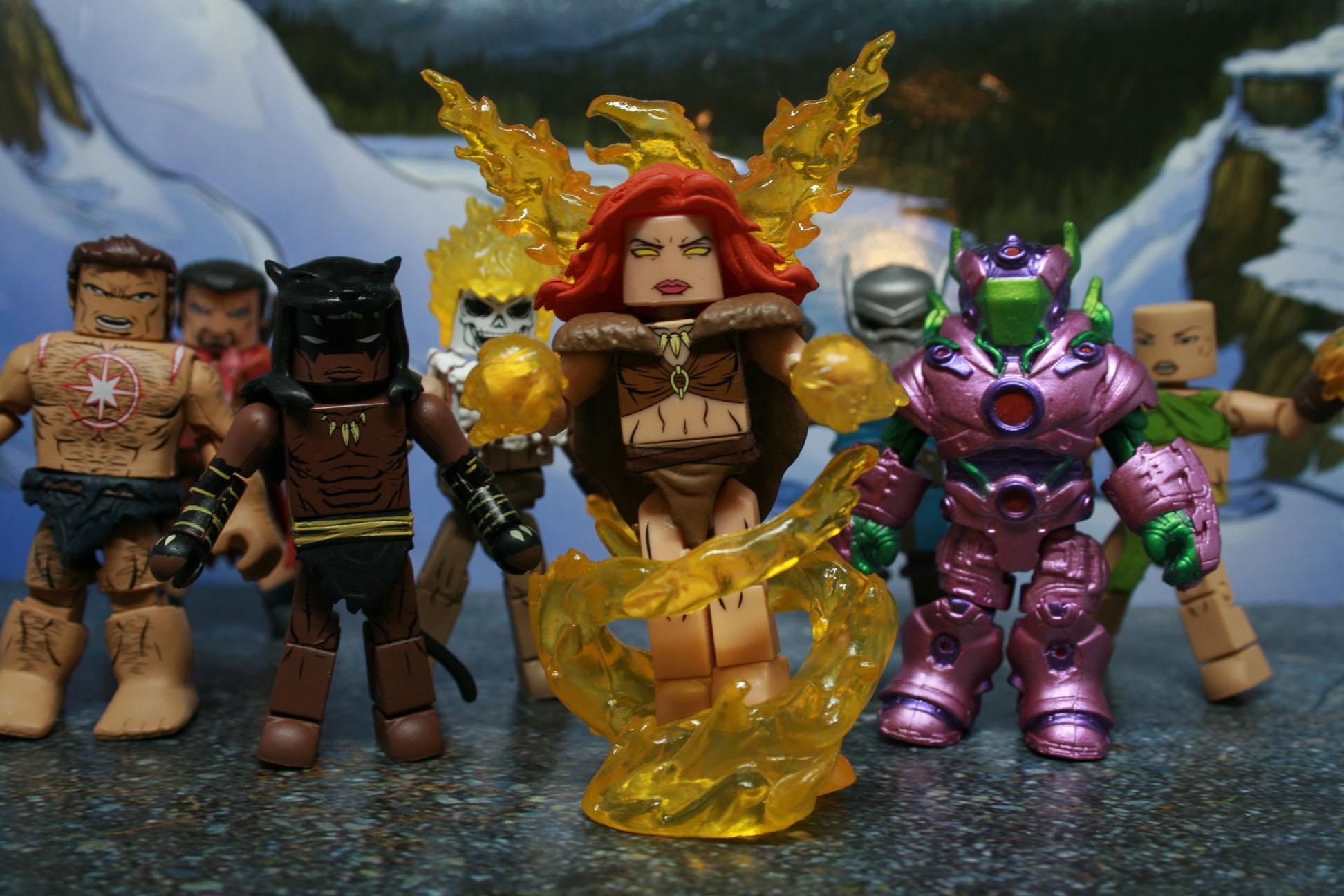 Minimates Marvel Avengers 1,000,000 BC Phoenix Agamotto