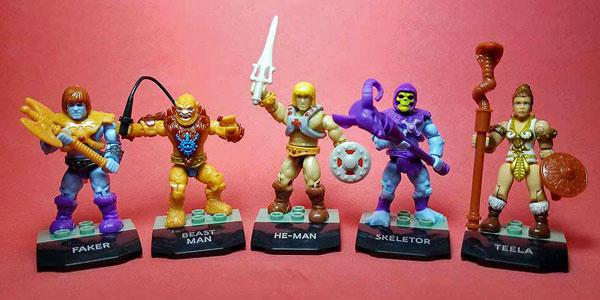 Mega Construx Skeletor Masters Of The Universe Mini-Figure