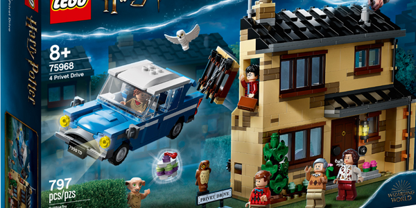LEGO Announces New Harry Potter Sets for Summer 2020